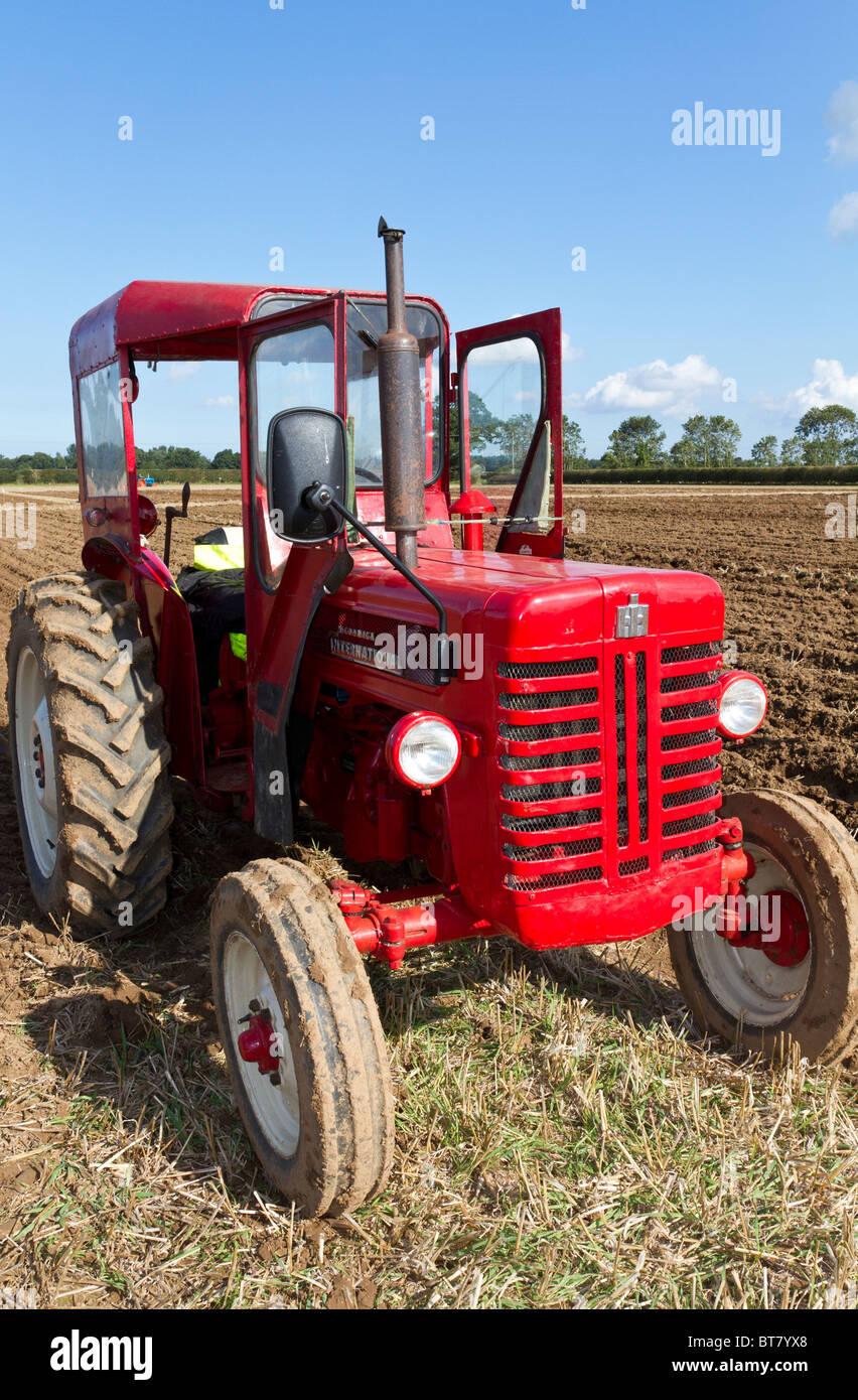 McCormick International tractor on display at the 2010 Ingworth Trosh,  Norfolk, England, UK