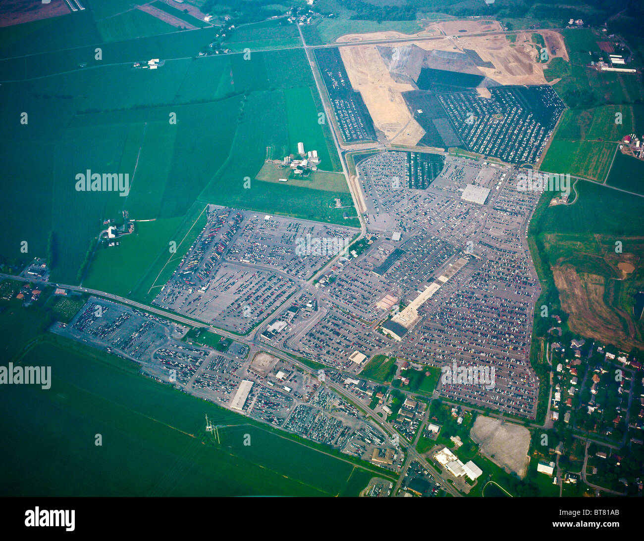 Auto Auction Pa >> Aerial View Lancaster County Auto Auction Manheim Pa