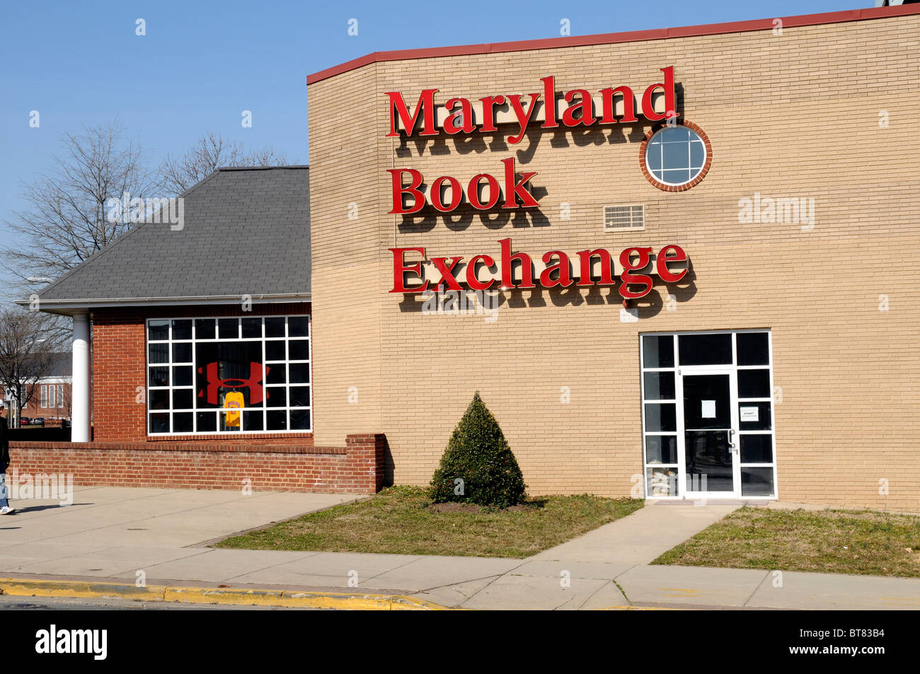 Maryland Book Exchange in College Park, Maryland - Stock Image