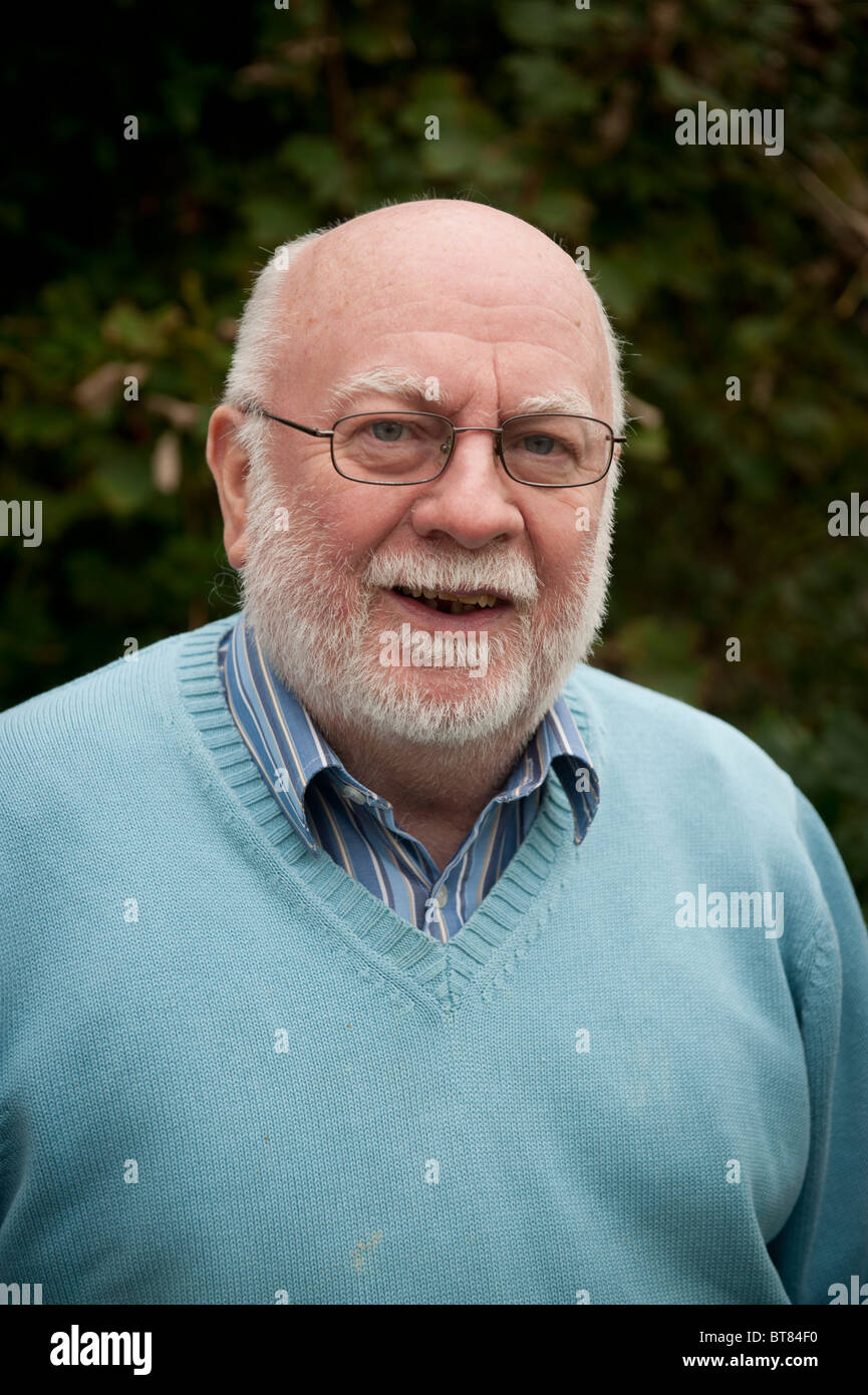 welsh language writer and humourist LYN EBENEZER - Stock Image