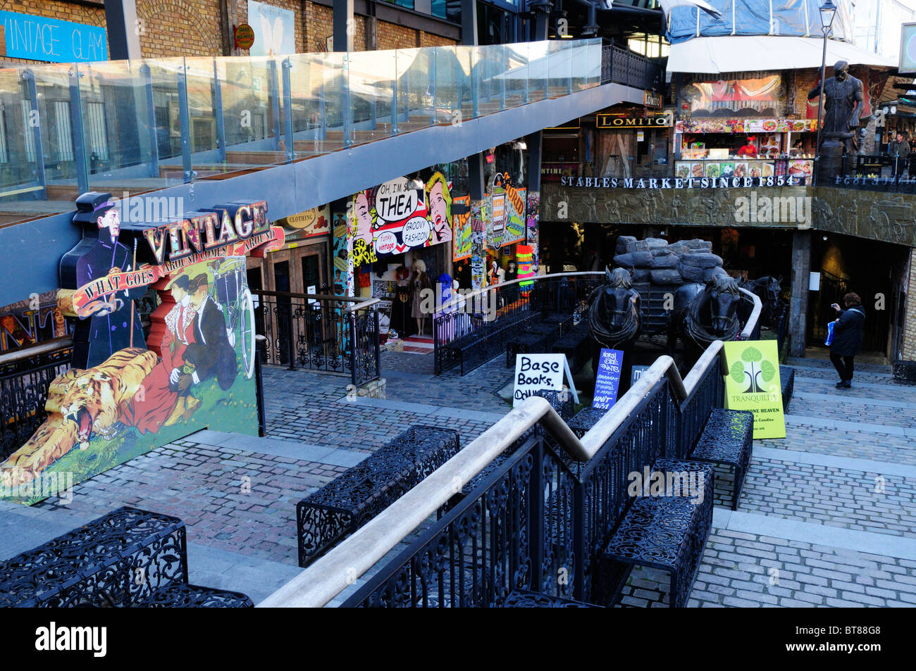 The Stables Market. Camden Town, London, England, UK - Stock Image