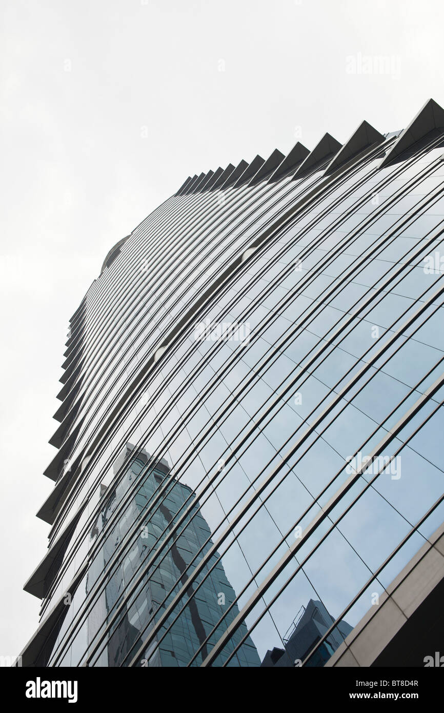 Modern Sky Scraper Hong Kong - Stock Image