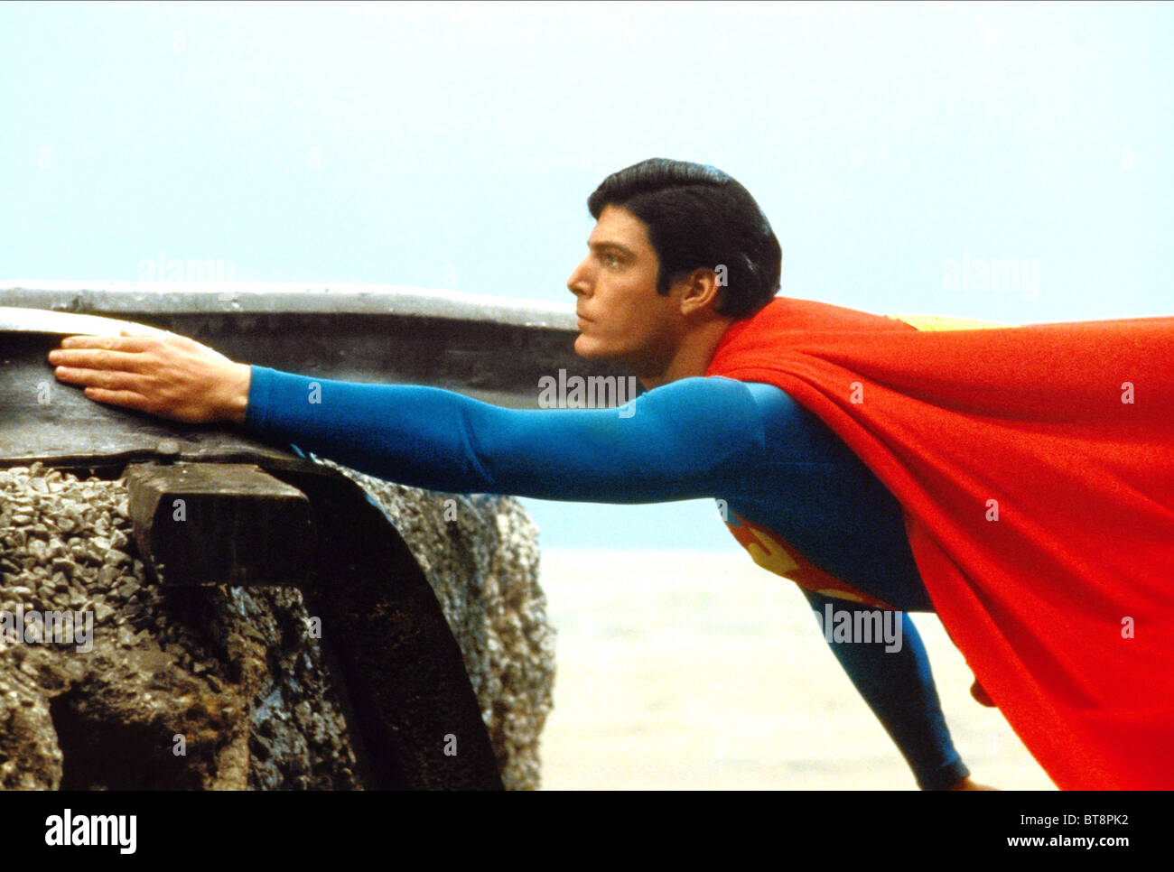 CHRISTOPHER REEVE SUPERMAN (1978) - Stock Image