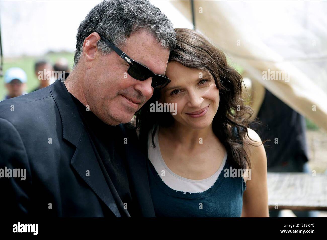 AMOS GITAI & JULIETTE BINOCHE DISENGAGEMENT (2007) - Stock Image