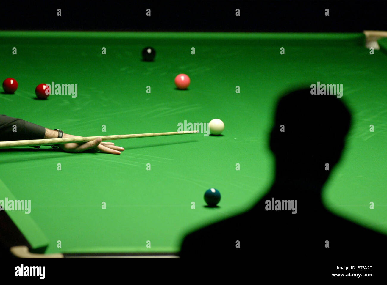 Professional Snooker. Picture by James Boardman - Stock Image