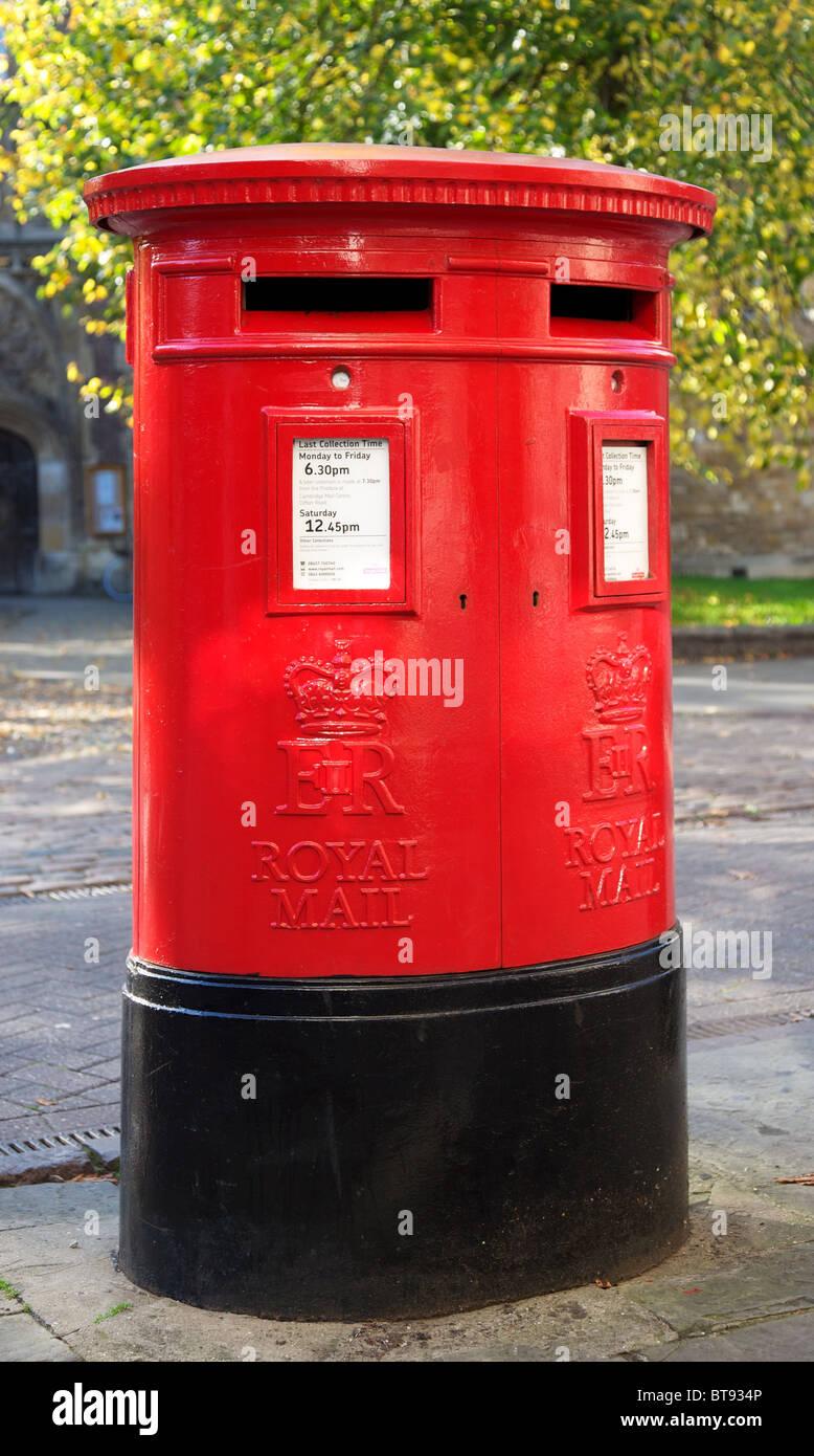 British letter box - Stock Image