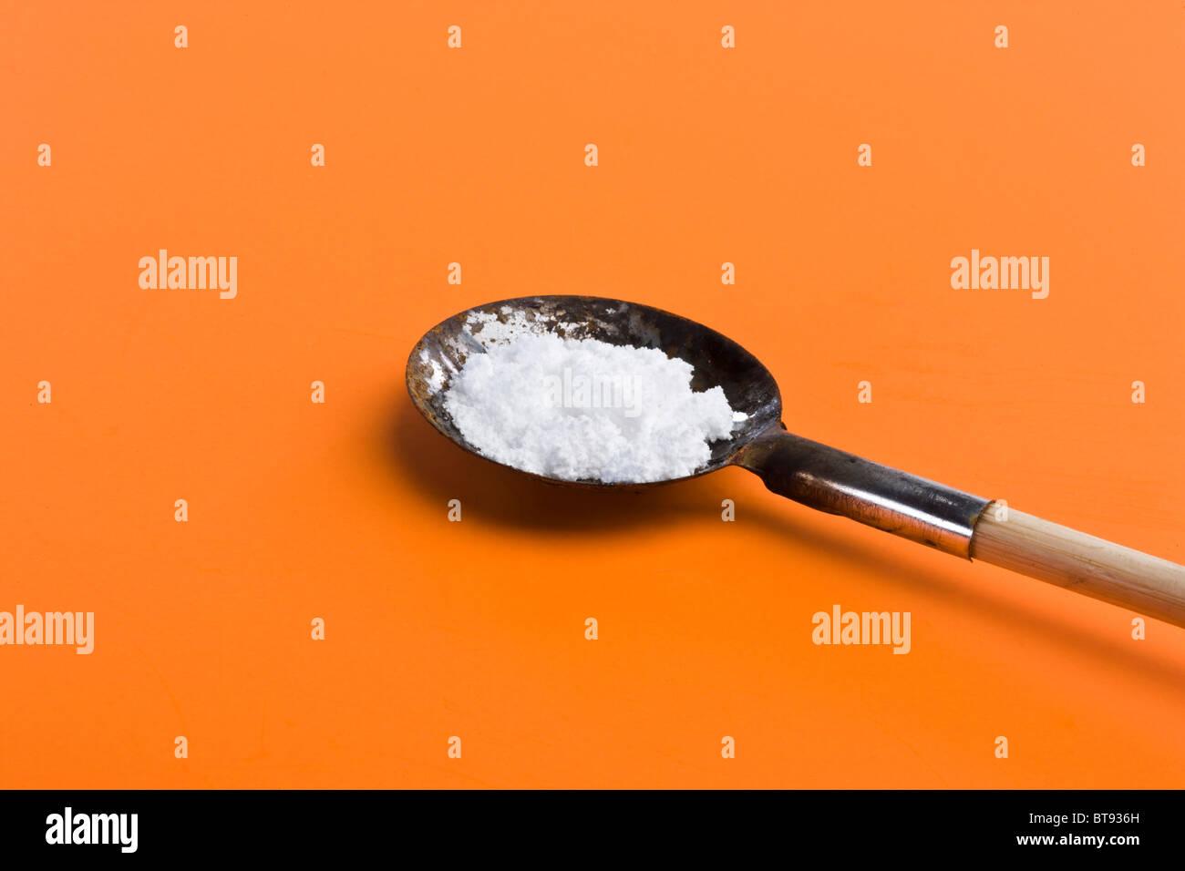 Heroin - Stock Image