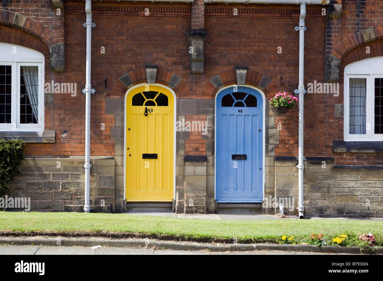 Port Sunlight Merseyside - Stock Image