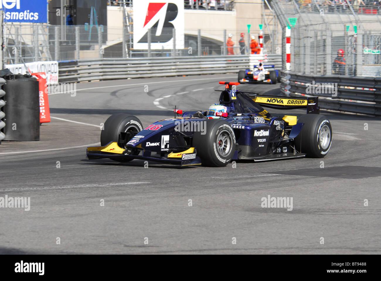 GP2 Monaco Friday practice 2008 - Stock Image