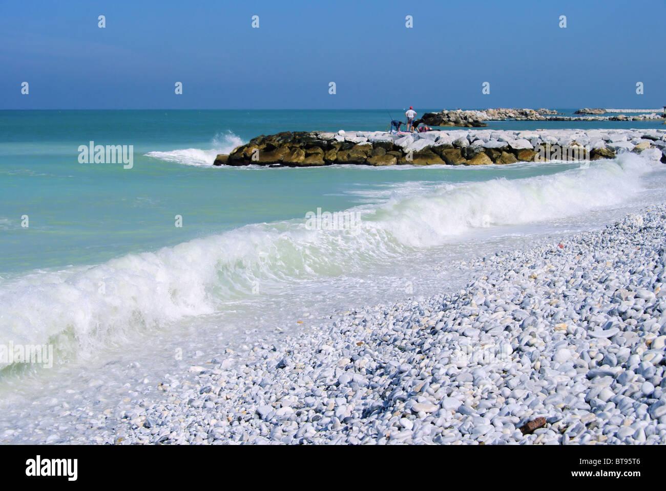 Pisa Strand - Pisa beach 01 Stock Photo