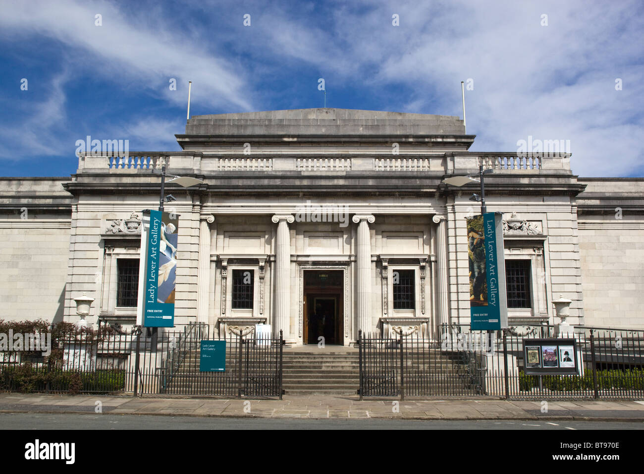 Lady Lever Art Gallery Port Sunlight - Stock Image