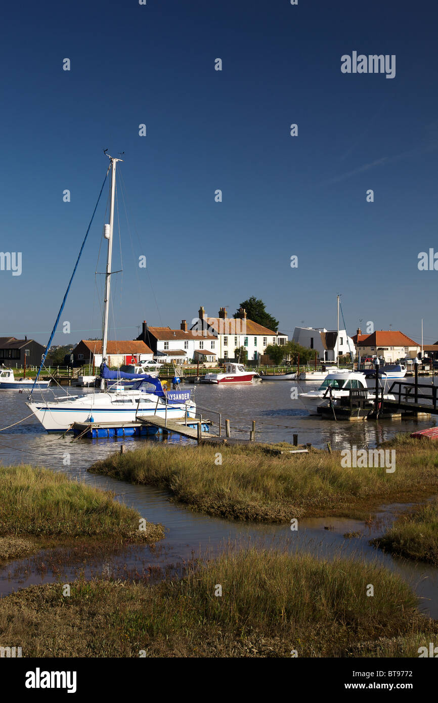 River Blyth at Walberswick, Suffolk coast - Stock Image