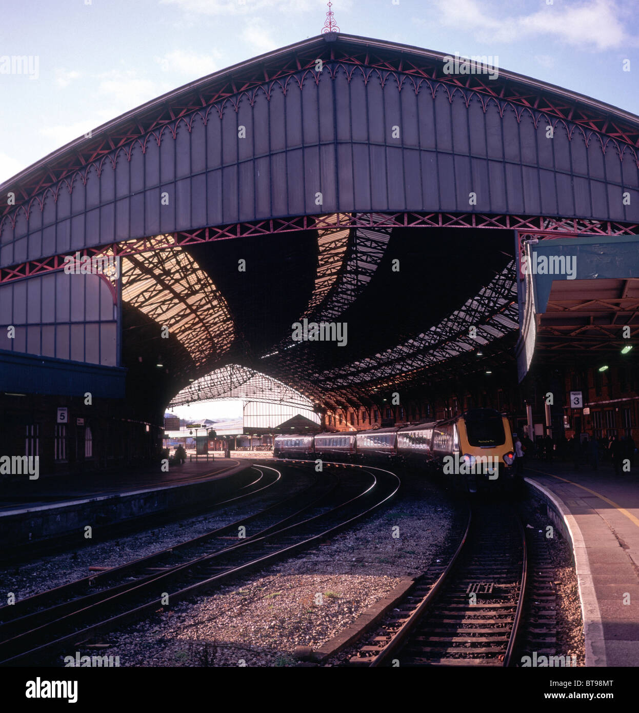 Temple Meads railway station Bristol England Stock Photo