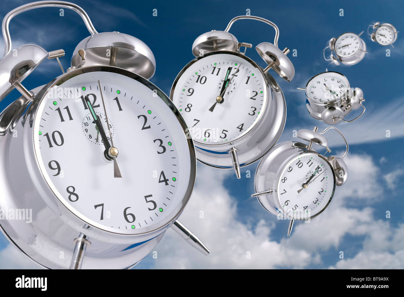 Time flies - Stock Image