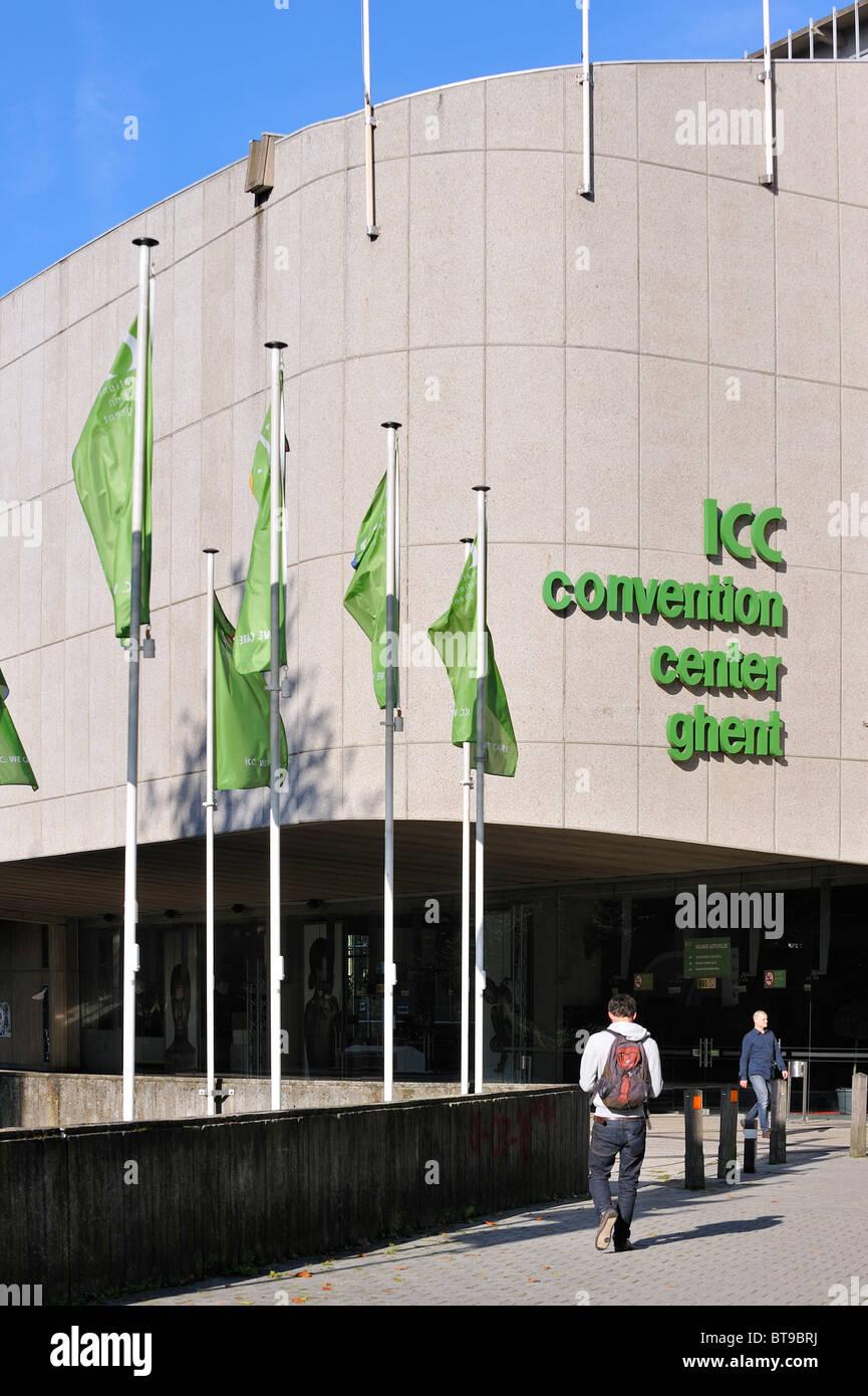 The ICC International Convention Center Ghent, Belgium - Stock Image