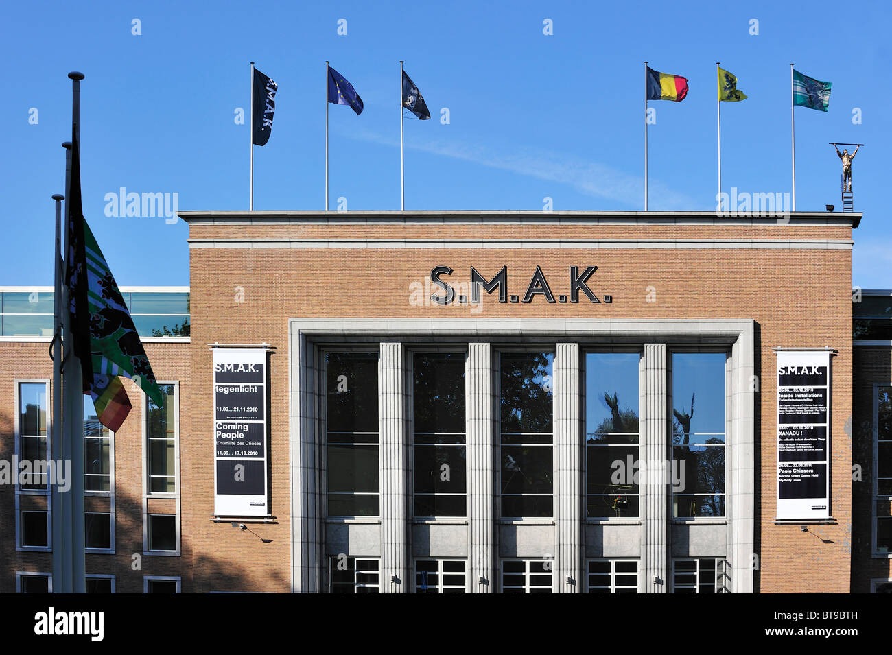 SMAK, the Municipal Museum of Contemporary Art at Ghent, Belgium - Stock Image