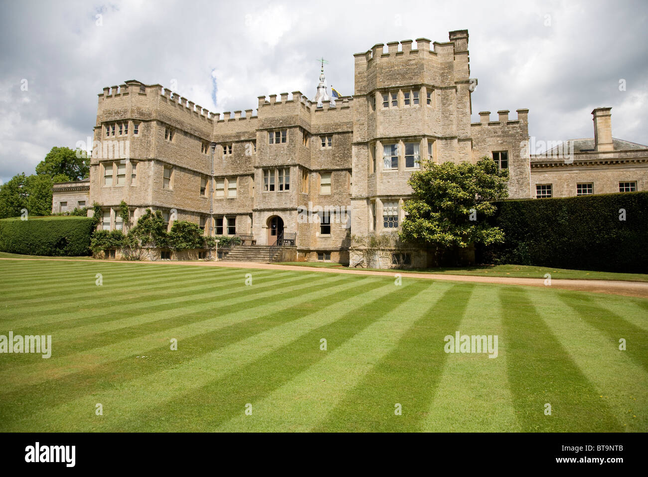 Rousham Park House and Gardens, Oxfordshire. England - Stock Image