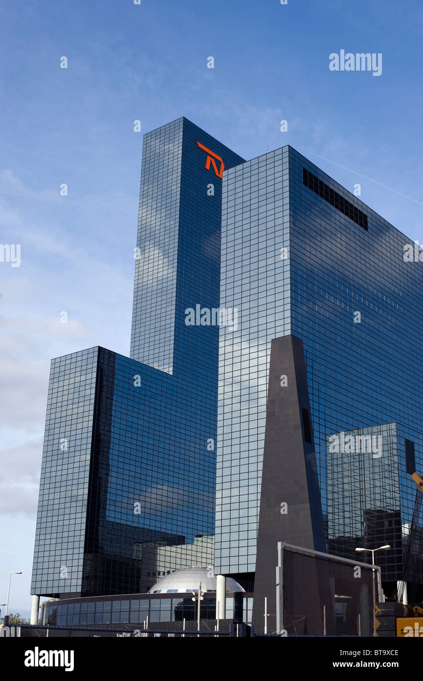 Modern high-rise, Weena, Rotterdam, South Holland, Holland, Netherlands, Europe Stock Photo