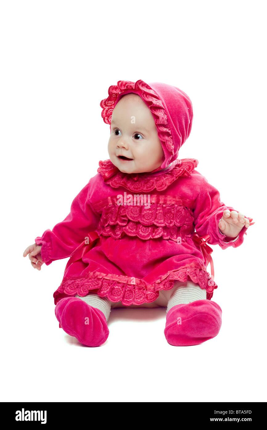 nice baby girl stock photo: 32185985 - alamy