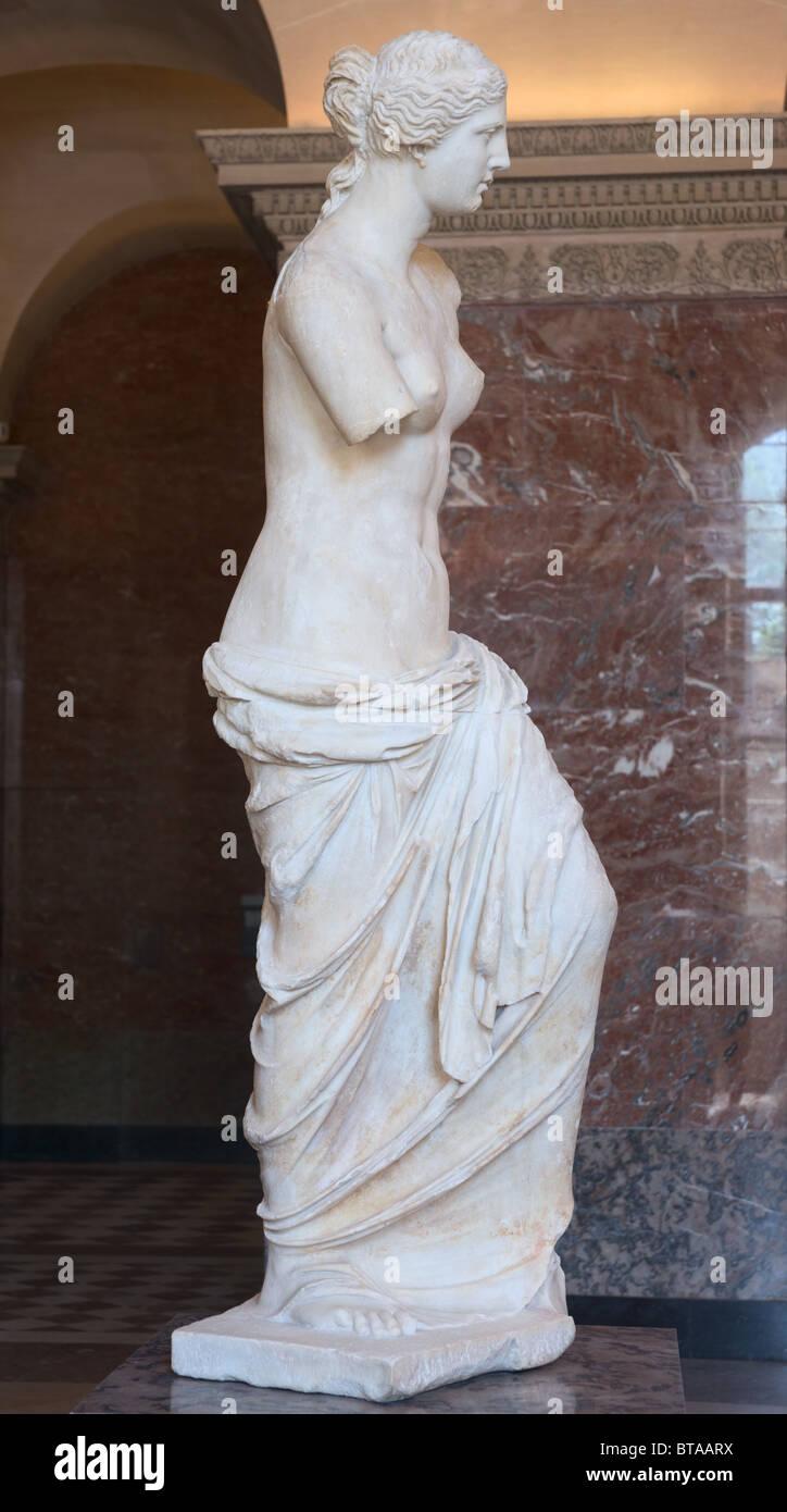 Venus de Milo or Aphrodite of Milos Statue Louvre Museum ...