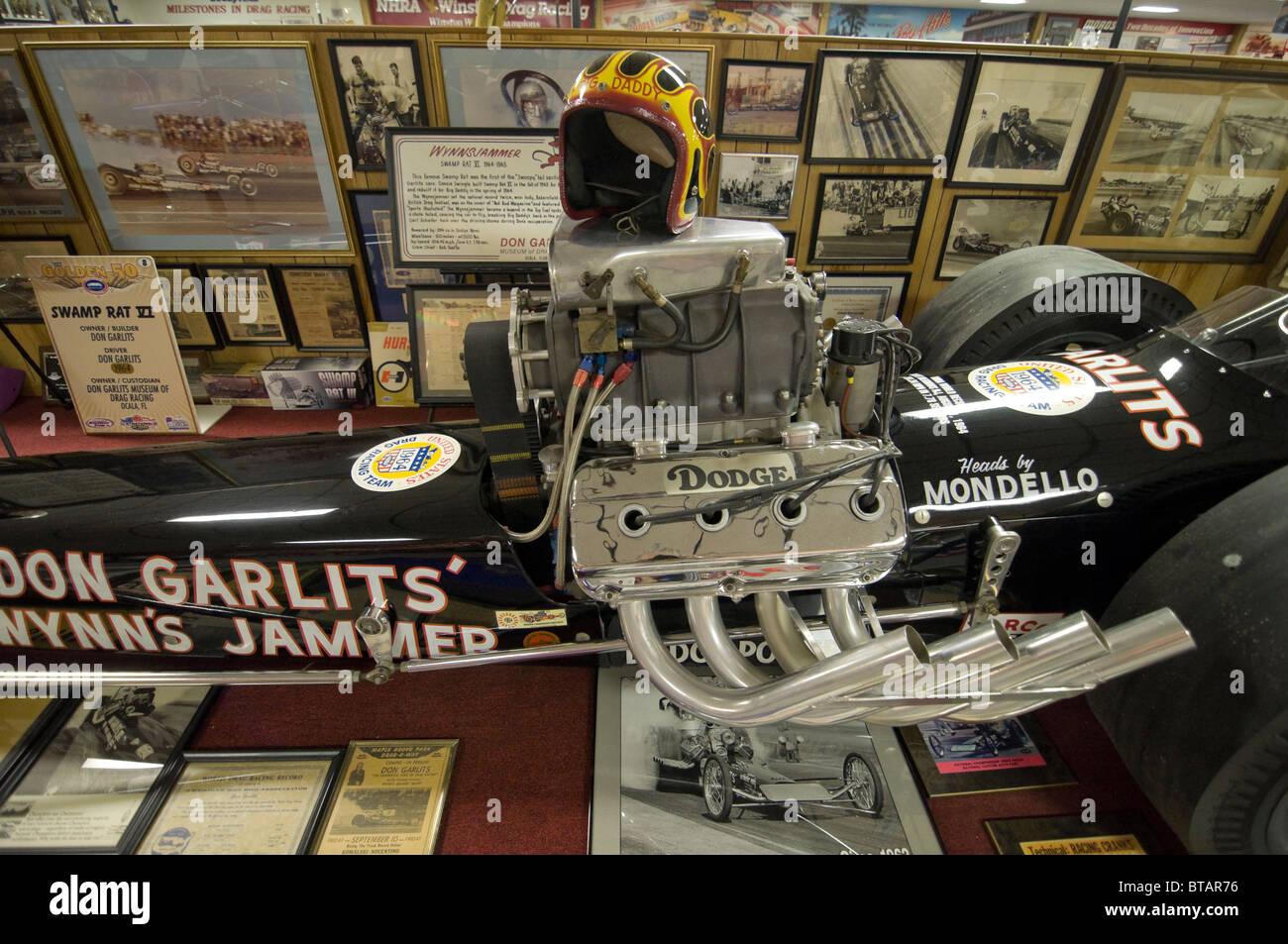 fuel dragster at Don Garlits Museum of Drag Racing Ocala Florida Stock Photo: 32199866 - Alamy