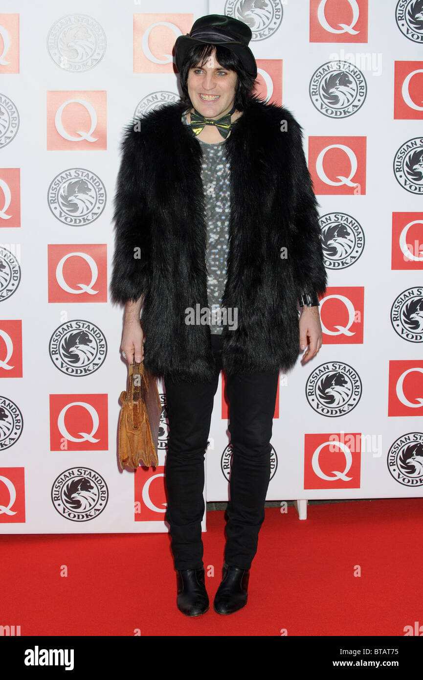 Noel Fielding attends the Q Awards at Grosvenor House, London, 25th October 2010. - Stock Image