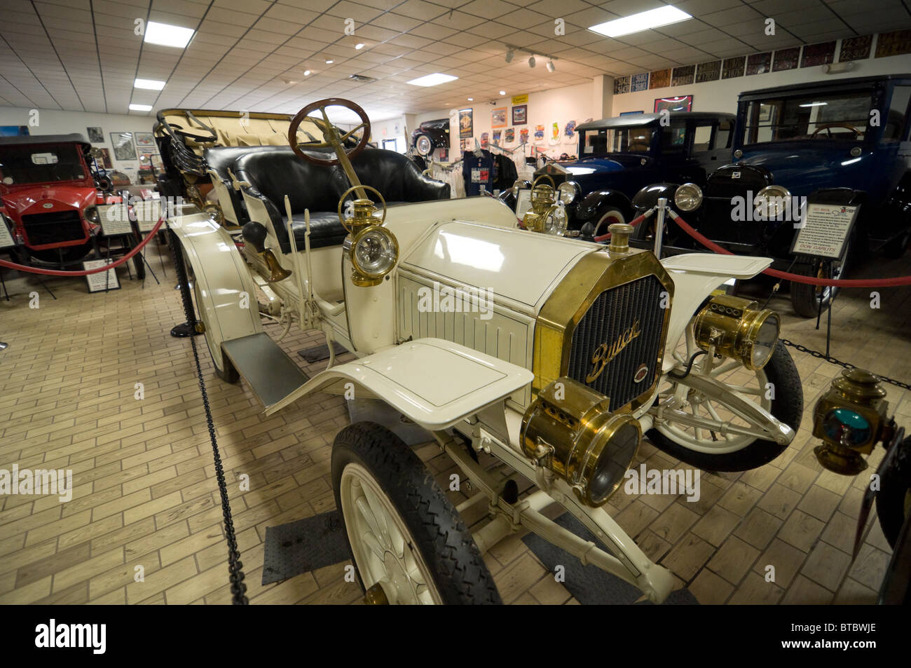 Don Garlits Museum of Classic Automobiles Ocala Florida vintage Buick automobile - Stock Image
