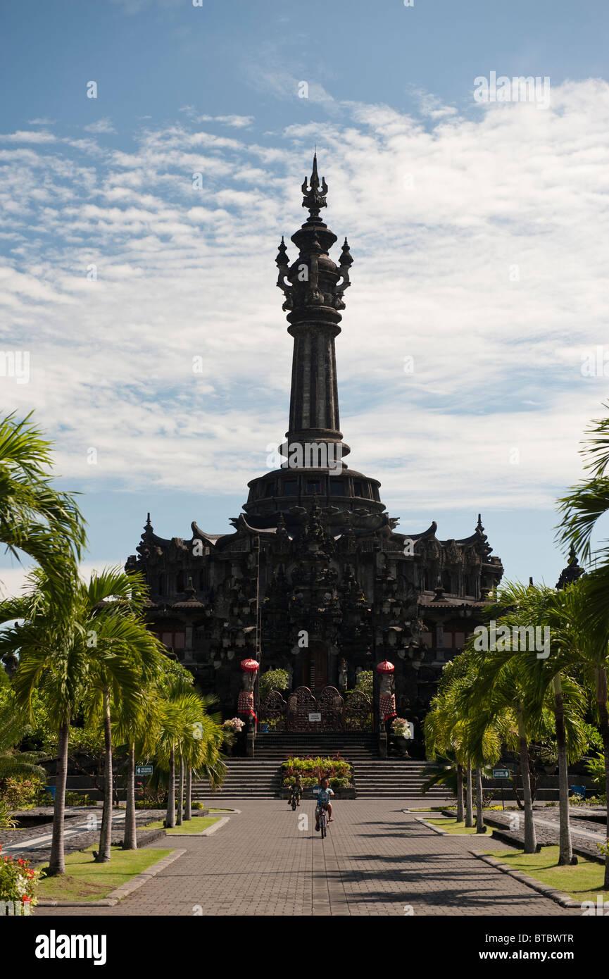 Balinese Peoples or Bajra Sandhi Monument in Denpasar, Bali, Indonesia - Stock Image