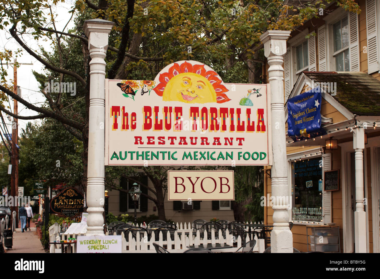 The Blue Tortilla Restaurant New Hope Bucks County