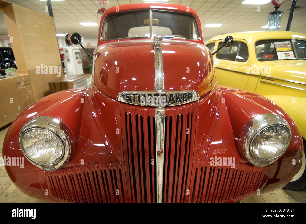 Don Garlits Museum of Classic Automobiles Ocala Florida 1948 Studebaker half-ton pick up truck - Stock Image
