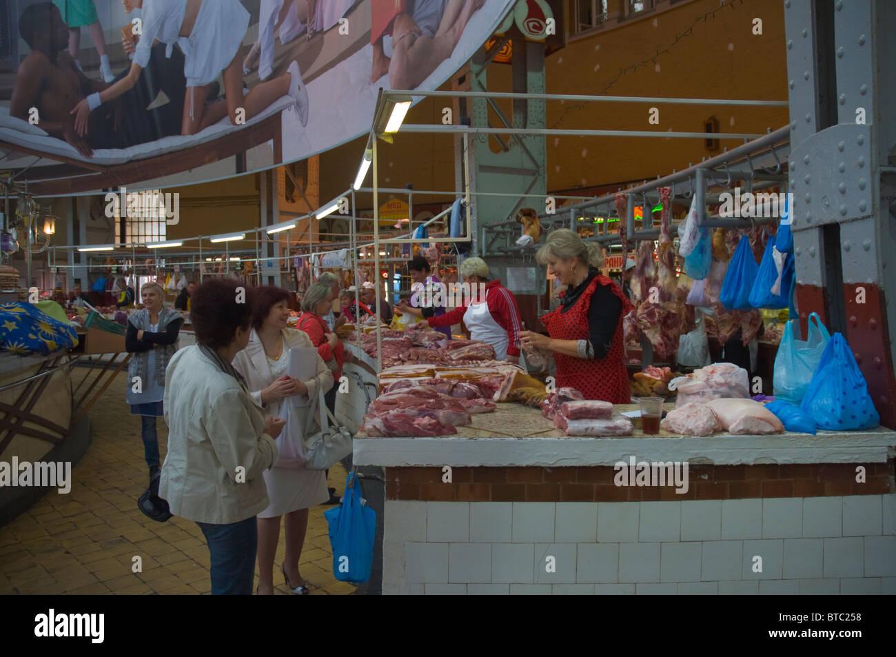meat stall bessarabsky rynok market central kiev ukraine. Black Bedroom Furniture Sets. Home Design Ideas
