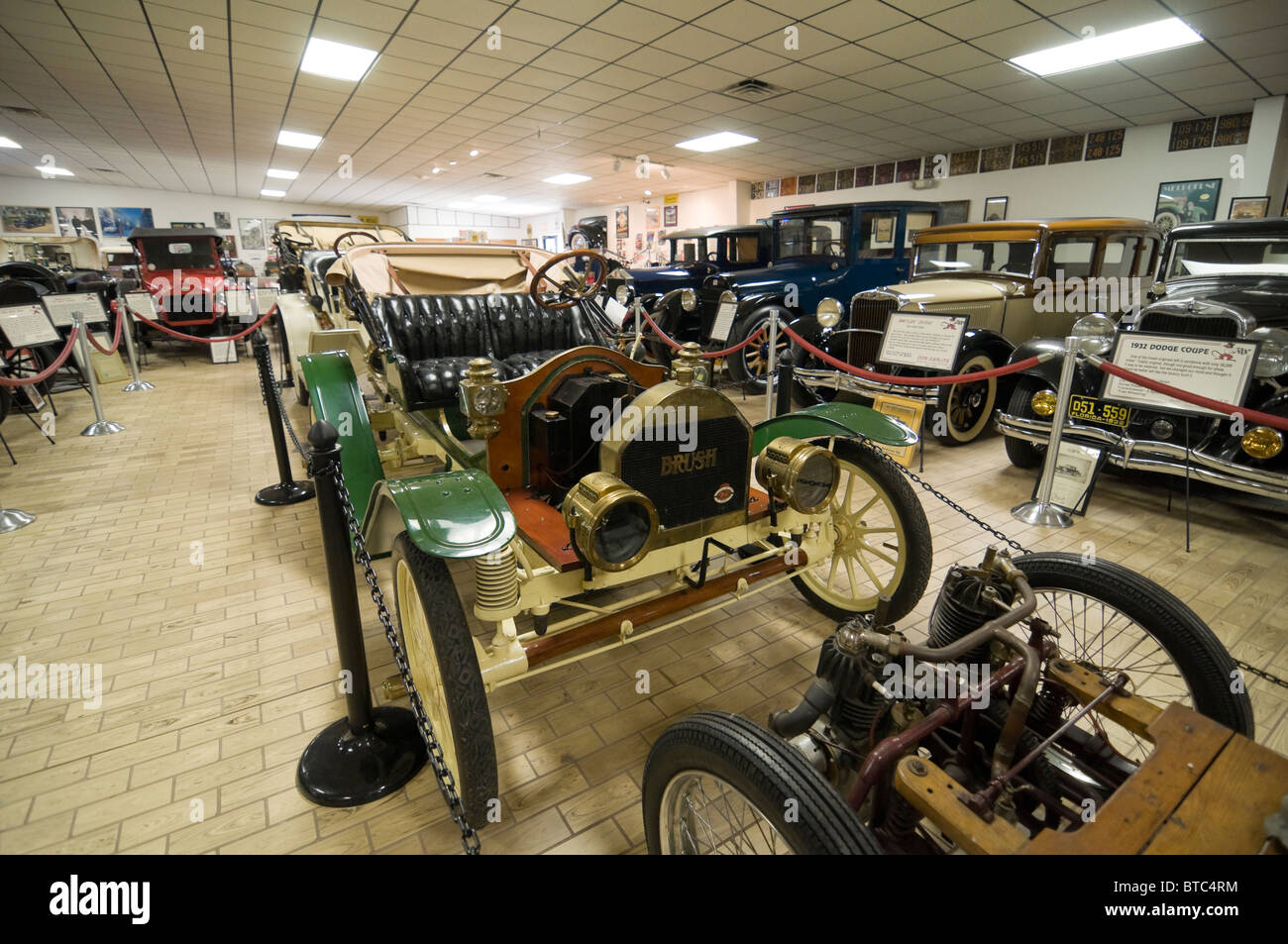 Don Garlits Museum of Classic Automobiles Ocala Florida vintage Brush automobile - Stock Image