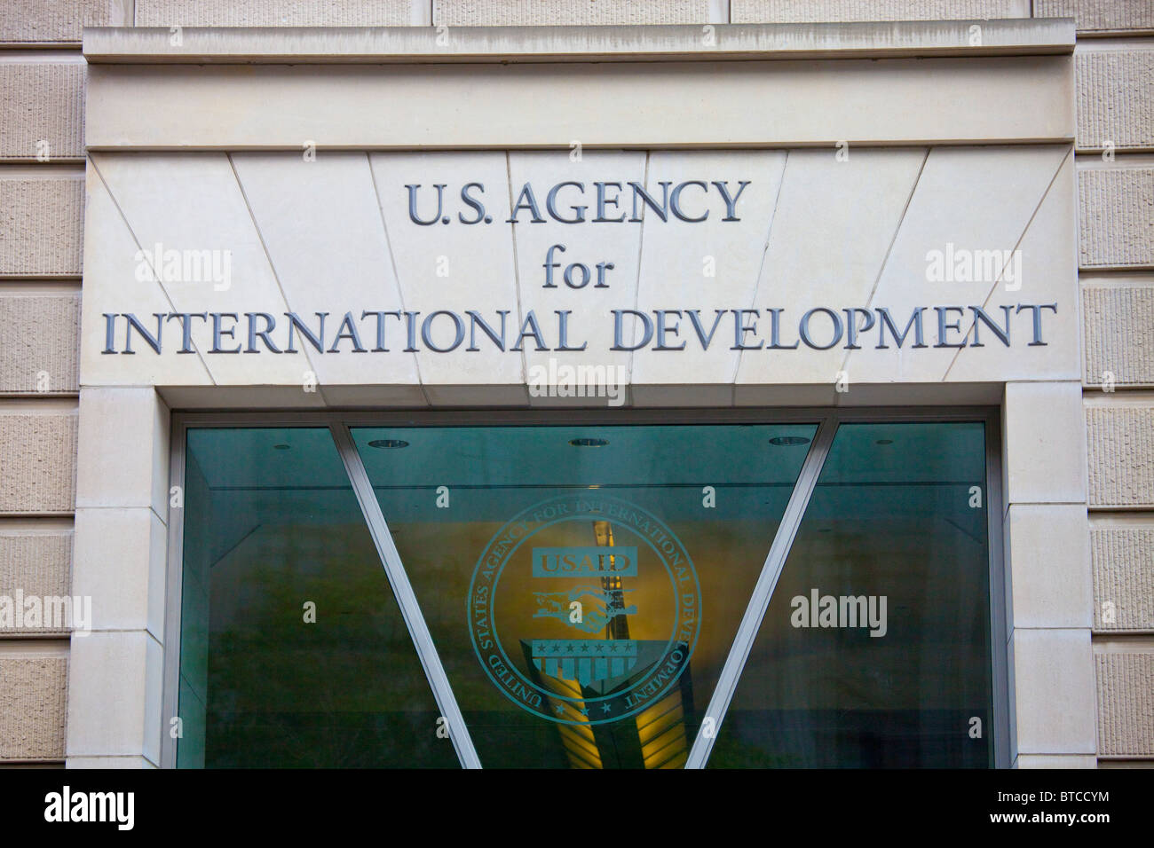 USAID office in Washington DC - Stock Image