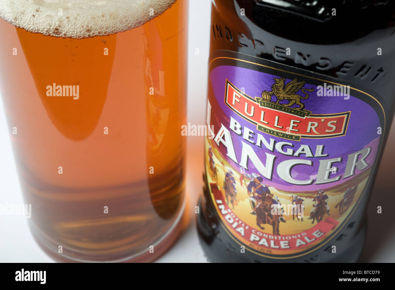 Fuller's Bengal Lancer India pale ale - Stock Image