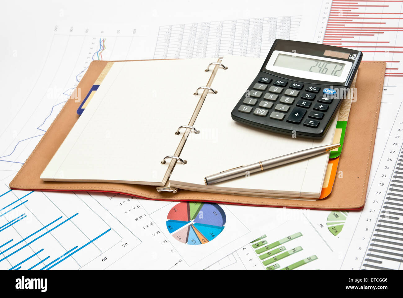 Finances - Stock Image