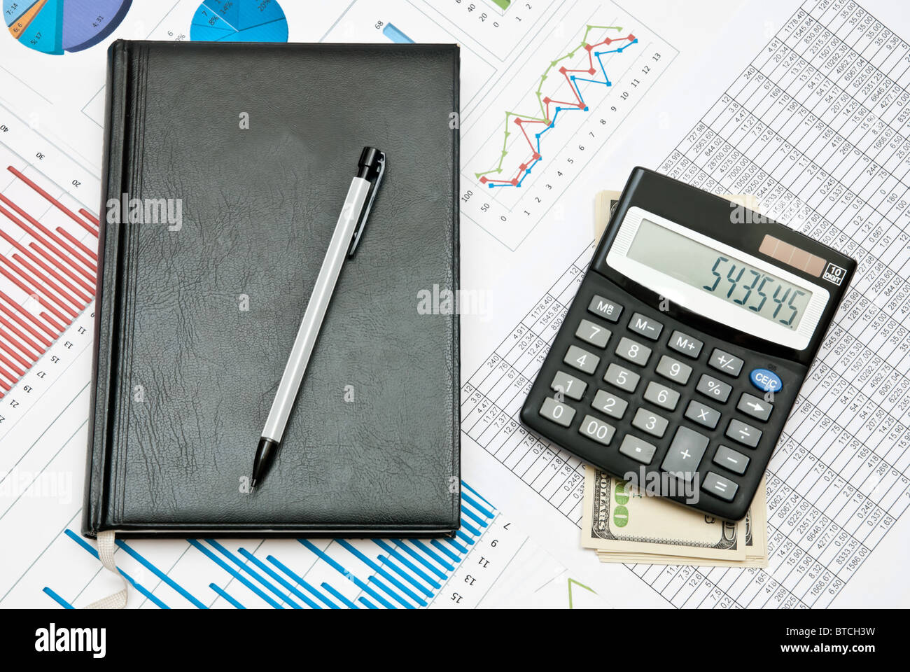 Business line - Stock Image