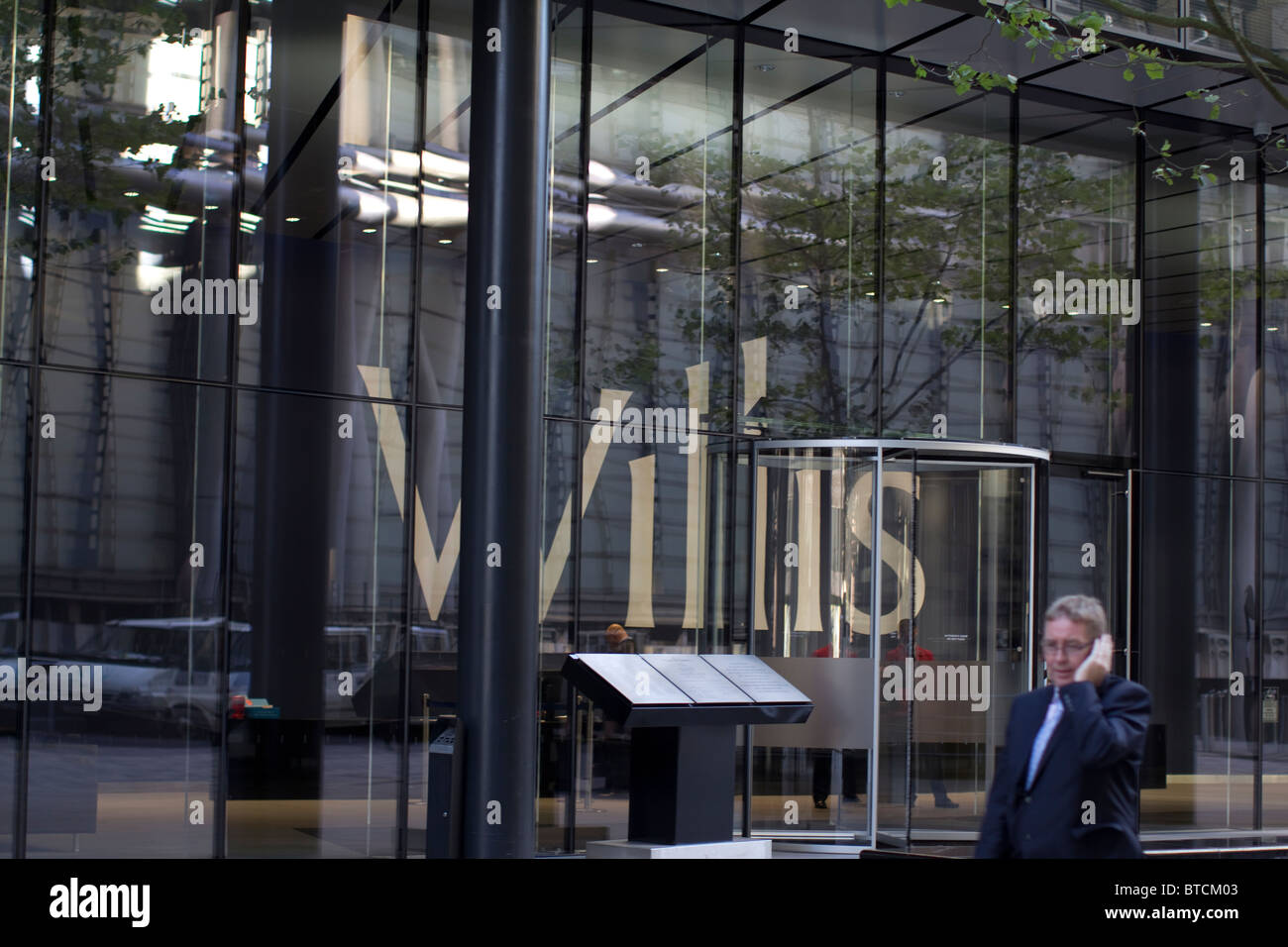 Willis building headquarters of Willis Group Holdings insurance Lime Street - Stock Image