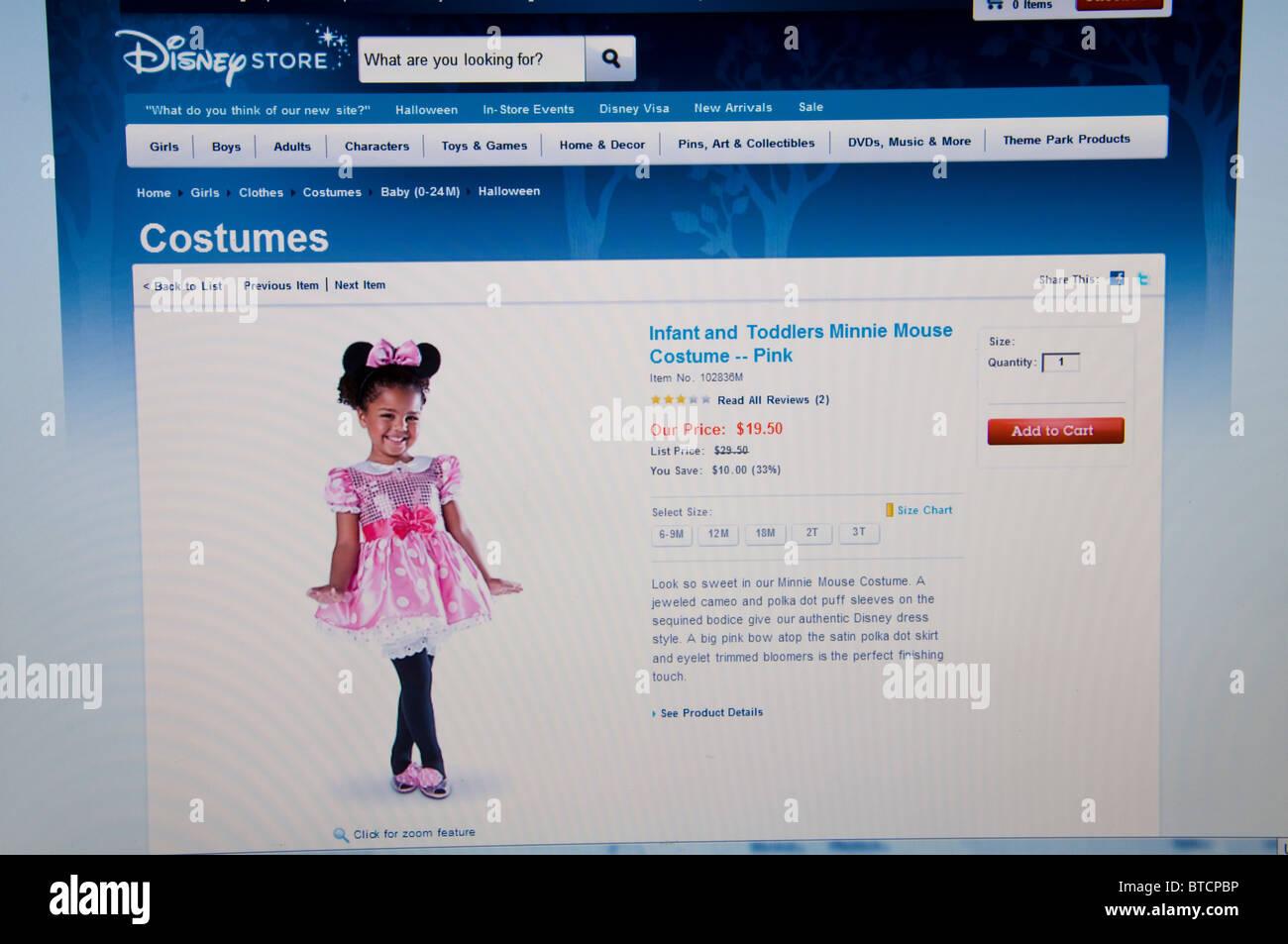 disney store halloween website online stock photo: 32243114 - alamy