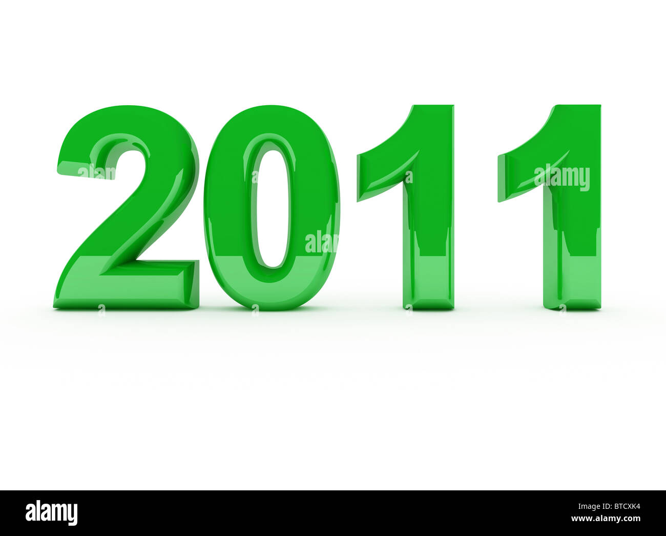2011 new year - Stock Image