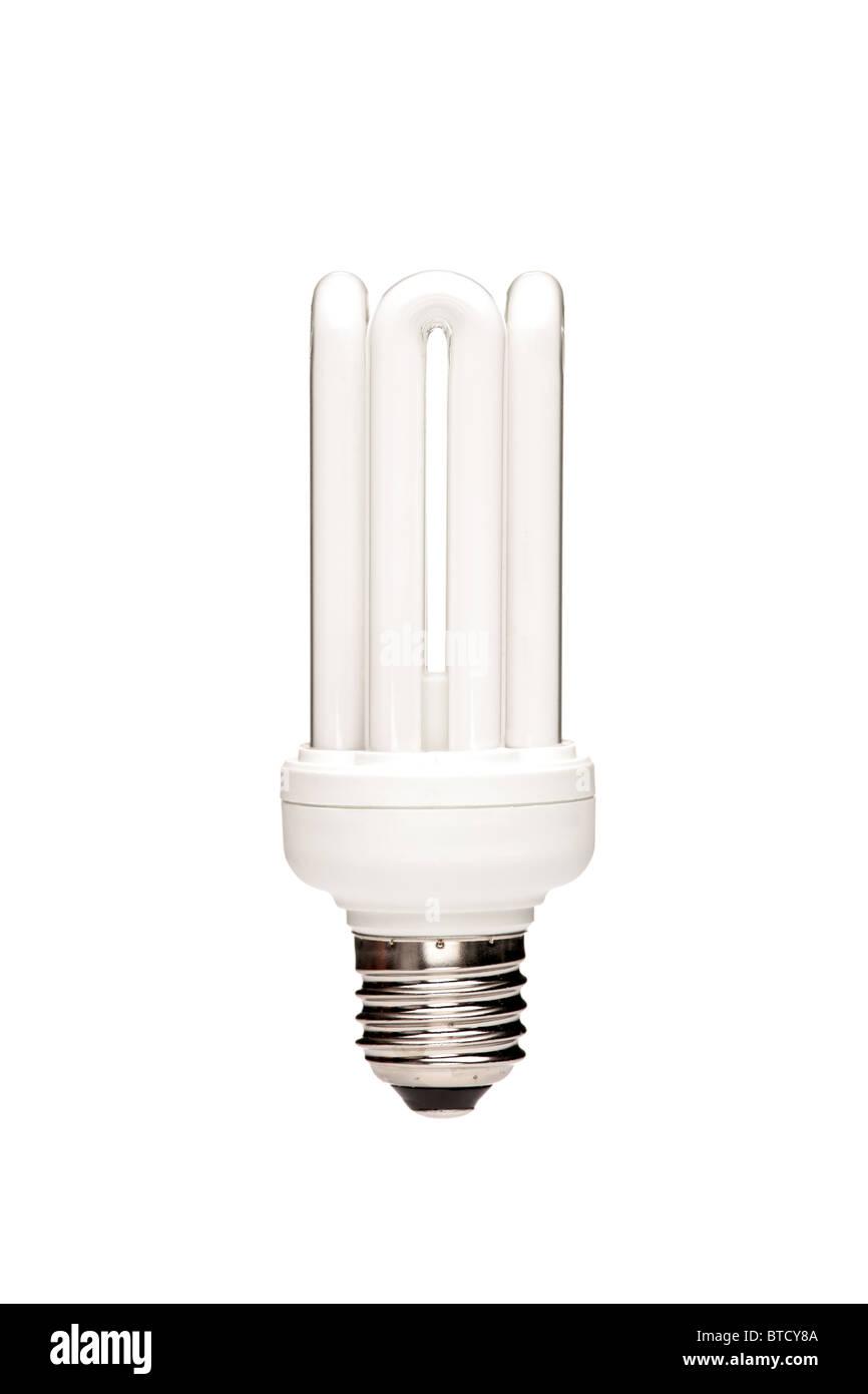 An energy saving light bulb - Stock Image