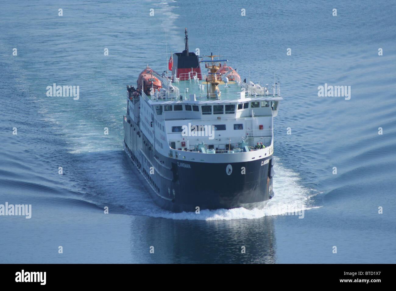 Caledonian MacBrayne ferry MV Clansman  Scotland  June 2007 Stock Photo