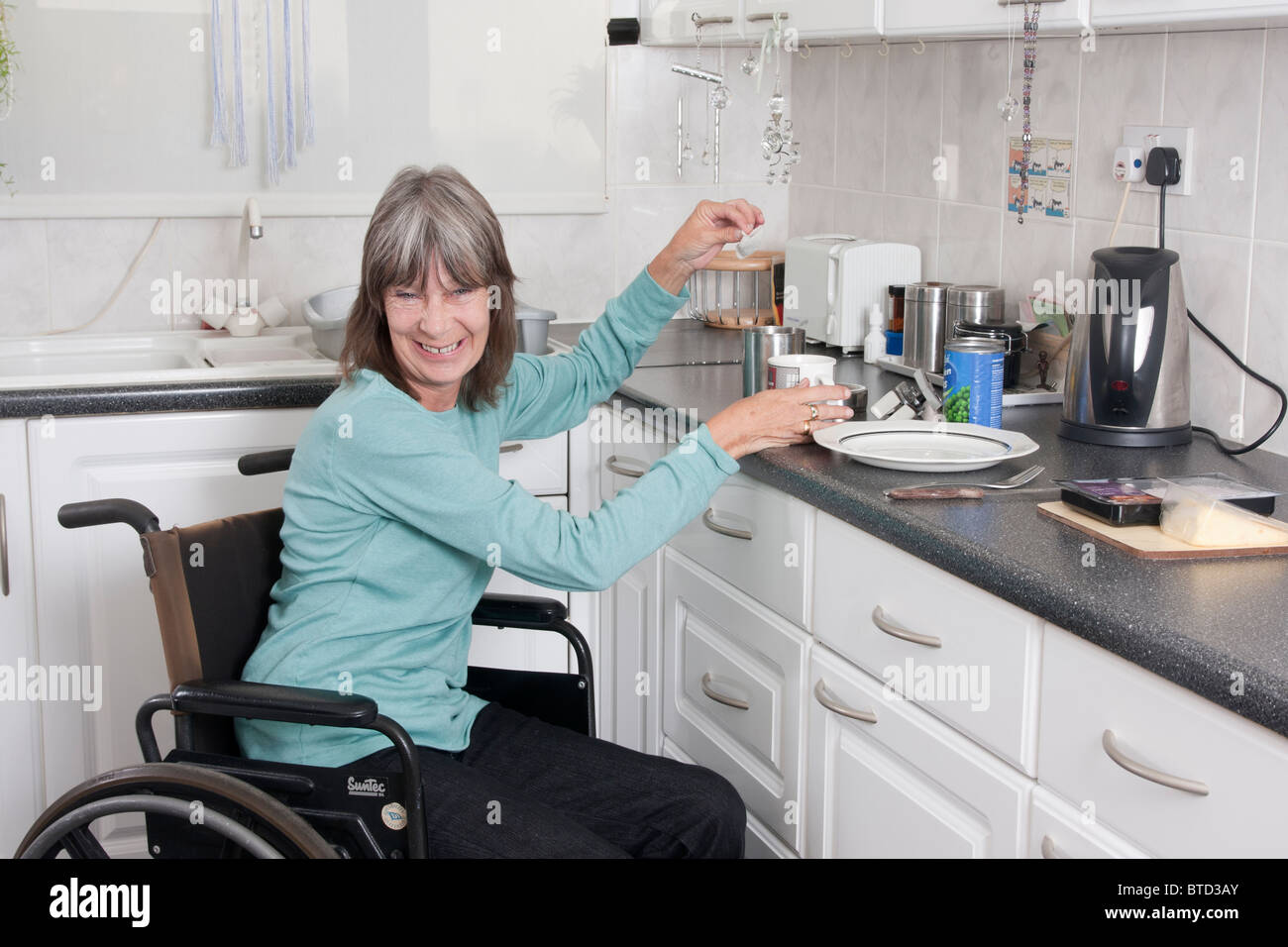 Portrait Woman Multiple Sclerosis In Stock Photos & Portrait Woman ...