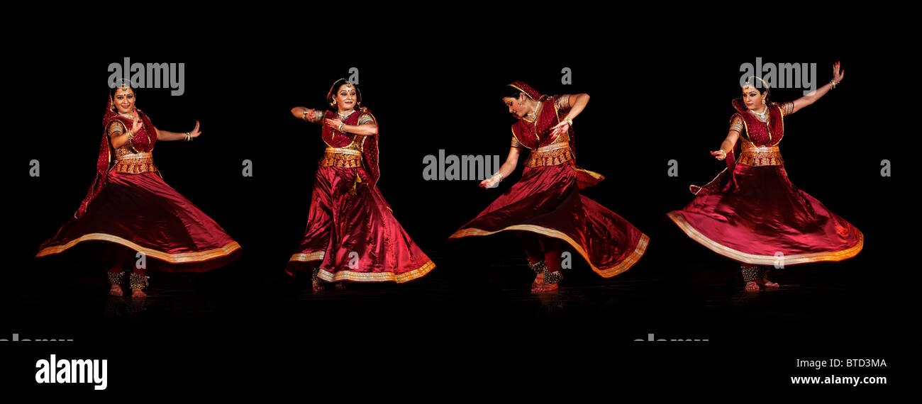 Kathak Dance India High Resolution Stock Photography And Images Alamy