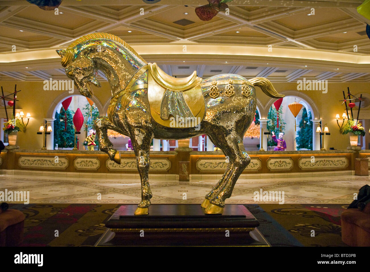 Hotel Lobby in Bellagio Las Vegas | Flickr - Photo Sharing! |Las Vegas Bellagio Hotel Lobby