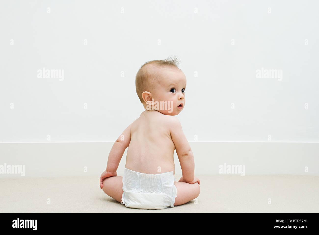 Baby - Stock Image