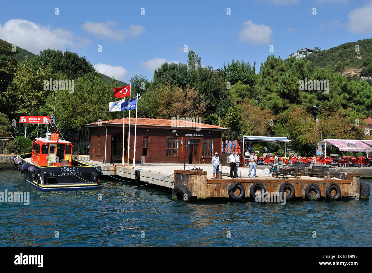 Rumeli Kavağı, Bosphorus, İstanbul, Turkey 100916_36099 - Stock Image
