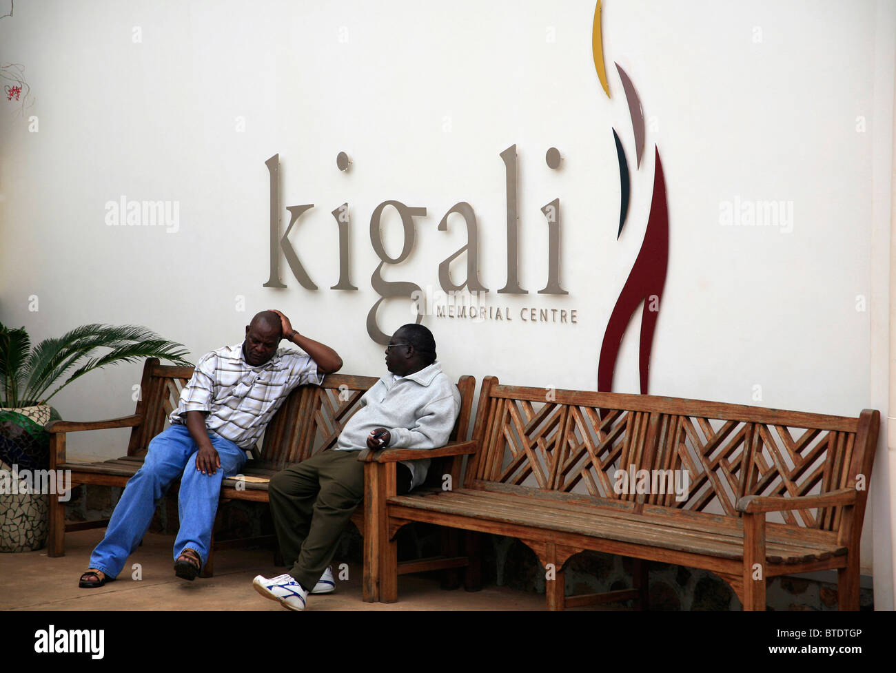 Kigali Memorial Centre in Kigali, Rwanda, museum and memorial to the one million Rwandans killed in the 1994 genocide - Stock Image
