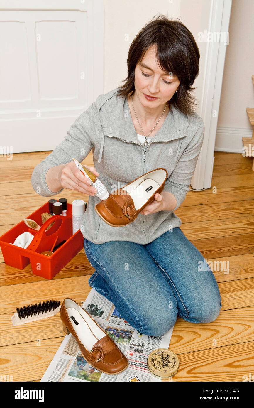 Boot Cleaning Brush Stock Photos Amp Boot Cleaning Brush