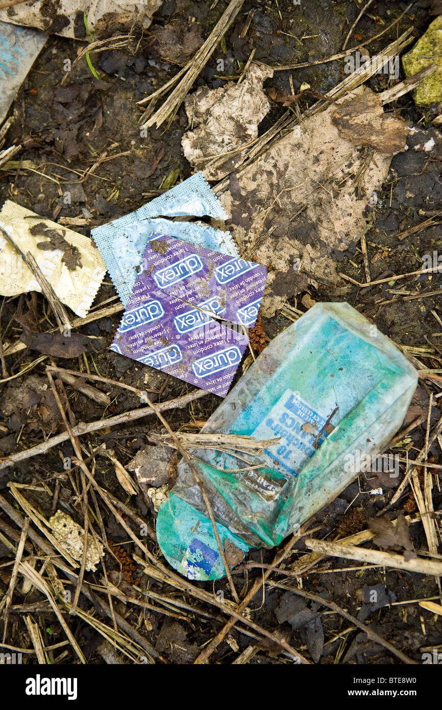 Litter, close-up - Stock Image