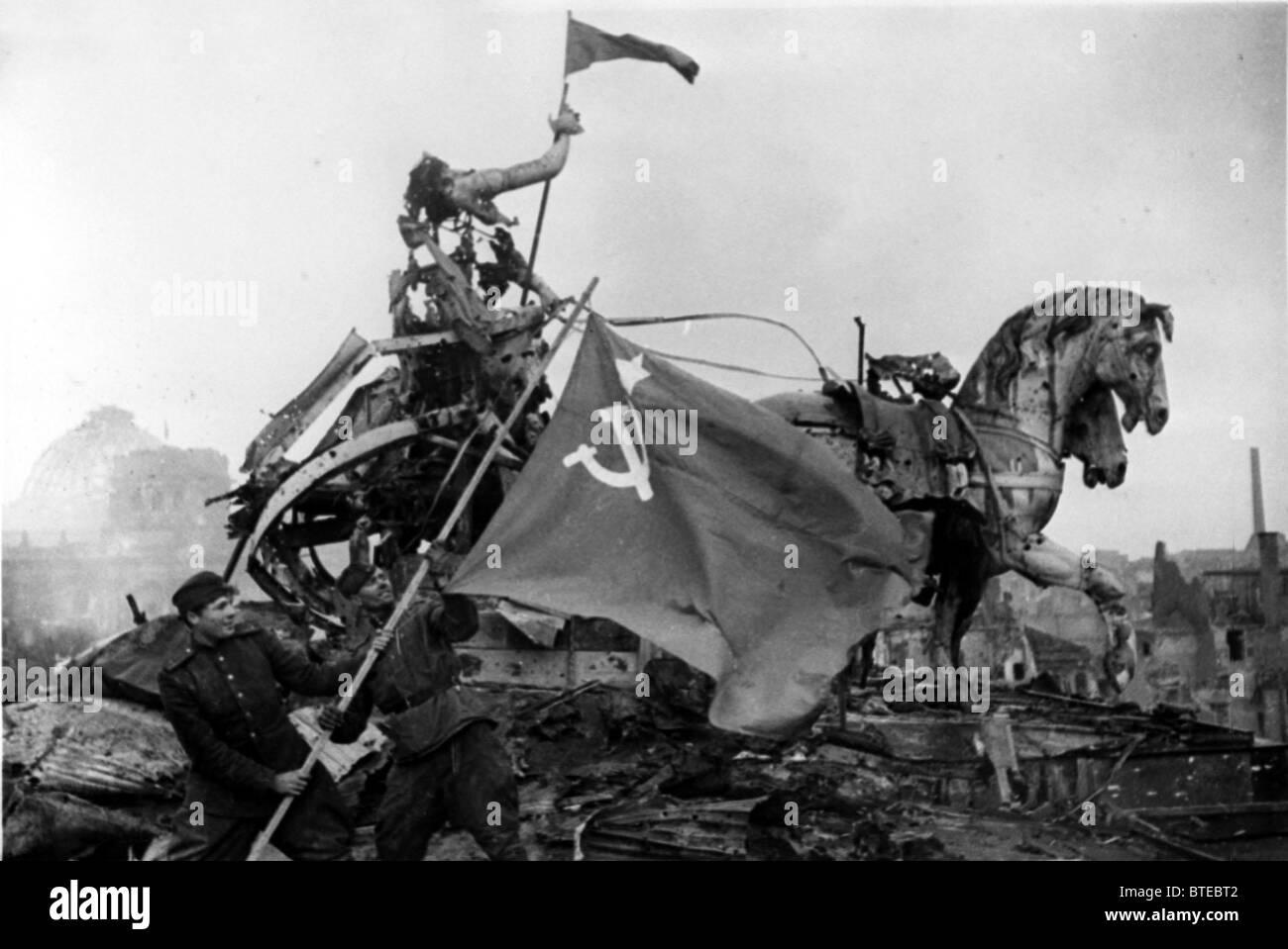 Great Patriotic War. Berlin, 1945 - Stock Image